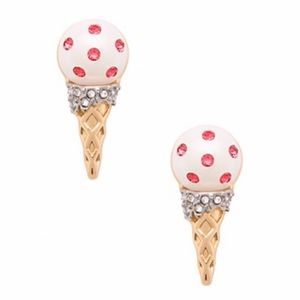 KATE SPADE • Ice Cream Cone Earrings